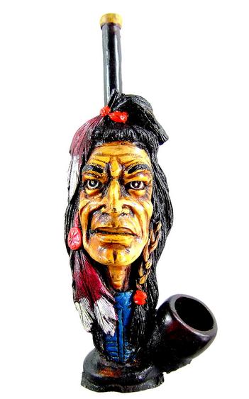 Häuptling der Indianer